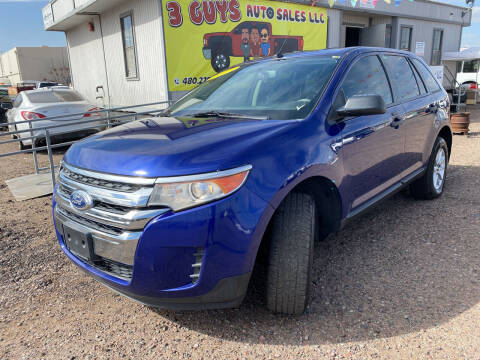 2013 Ford Edge for sale at 3 Guys Auto Sales LLC in Phoenix AZ