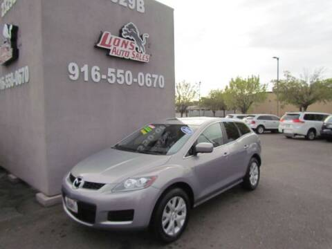 2009 Mazda CX-7 for sale at LIONS AUTO SALES in Sacramento CA