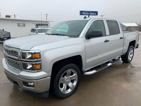 2014 Chevrolet Silverado 1500 for sale at Keller Motors in Palco KS
