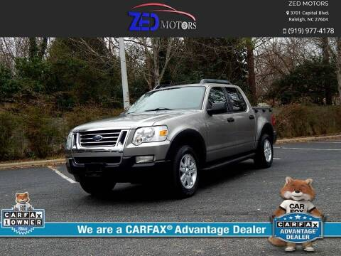 2008 Ford Explorer Sport Trac for sale at Zed Motors in Raleigh NC