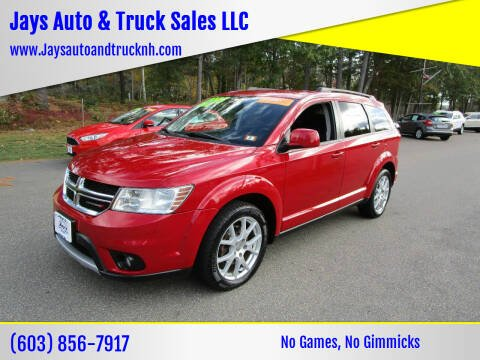 2015 Dodge Journey for sale at Jays Auto & Truck Sales LLC in Loudon NH