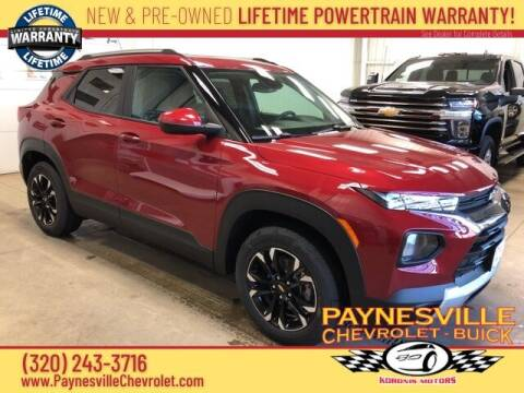2021 Chevrolet TrailBlazer for sale at Paynesville Chevrolet - Buick in Paynesville MN