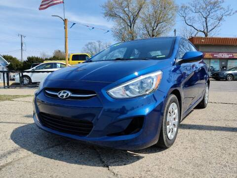 2015 Hyundai Accent for sale at Lamarina Auto Sales in Dearborn Heights MI