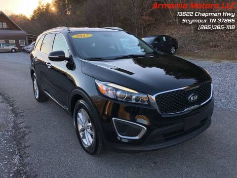 2017 Kia Sorento for sale at Armenia Motors in Seymour TN