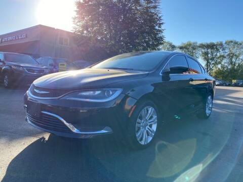 2016 Chrysler 200 for sale at MIDWEST CAR SEARCH in Fridley MN