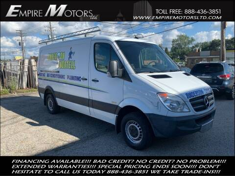 2013 Mercedes-Benz Sprinter Cargo for sale at Empire Motors LTD in Cleveland OH