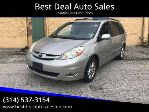 2006 Toyota Sienna for sale at Best Deal Auto Sales in Saint Charles MO