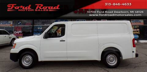 2017 Nissan NV Cargo for sale at Ford Road Motor Sales in Dearborn MI