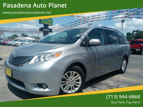 2013 Toyota Sienna for sale at Pasadena Auto Planet in Houston TX