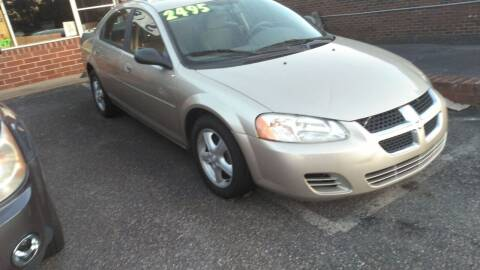 2005 Dodge Stratus for sale at IMPORT MOTORSPORTS in Hickory NC