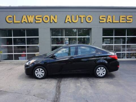 2017 Hyundai Accent for sale at Clawson Auto Sales in Clawson MI