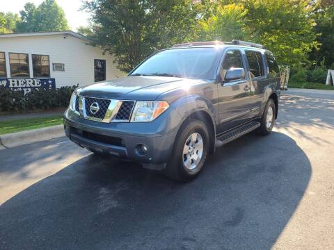 2007 Nissan Pathfinder for sale at TR MOTORS in Gastonia NC