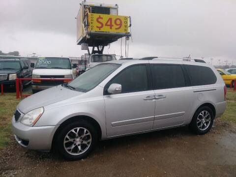 2014 Kia Sedona for sale at USA Auto Sales in Dallas TX