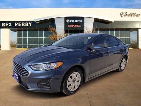2019 Ford Fusion for sale at AutoJacksTX.com in Nacogdoches TX