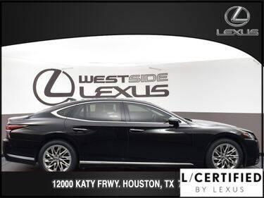 2019 Lexus LS 500 for sale at LEXUS in Houston TX