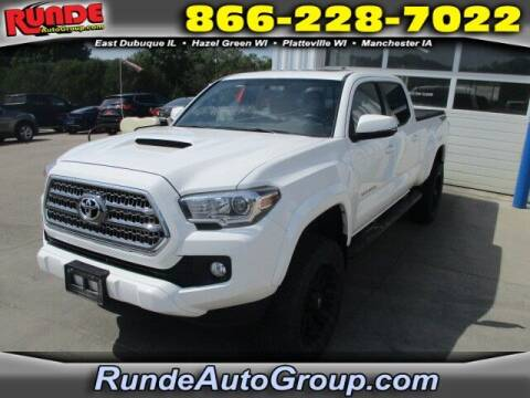 2016 Toyota Tacoma for sale at Runde PreDriven in Hazel Green WI