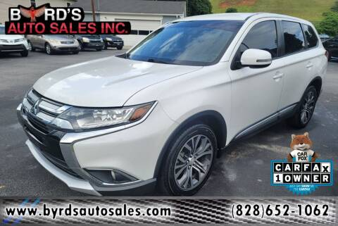 2017 Mitsubishi Outlander for sale at Byrds Auto Sales in Marion NC