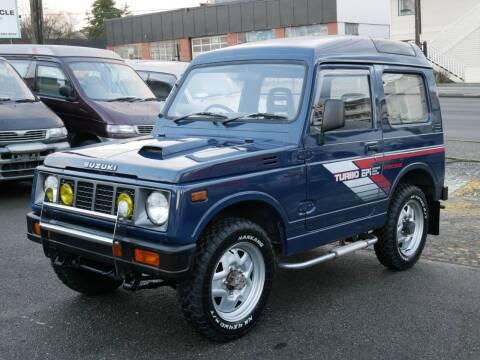 1989 Suzuki Jimny Samurai 4x4 MT5 for sale at JDM Car & Motorcycle LLC in Seattle WA