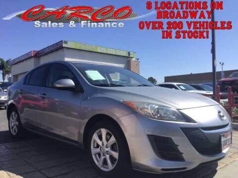 2010 Mazda MAZDA3 for sale at CARCO SALES & FINANCE #2 in Chula Vista CA