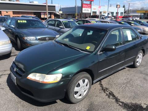 1999 Honda Accord for sale at American Dream Motors in Everett WA