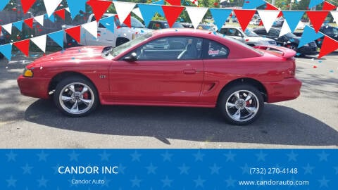1996 Ford Mustang for sale at CANDOR INC in Toms River NJ