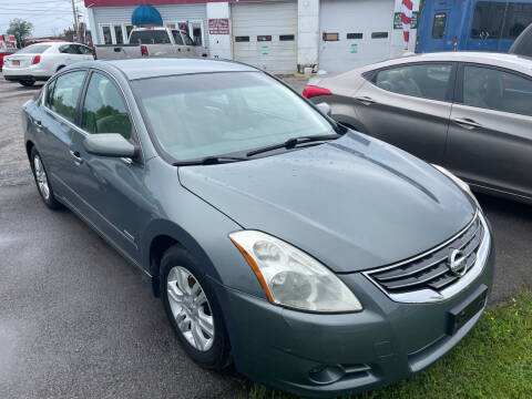 2011 Nissan Altima Hybrid for sale at Peter Kay Auto Sales in Alden NY