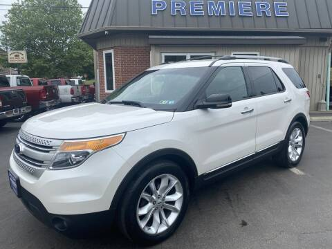 2013 Ford Explorer for sale at Premiere Auto Sales in Washington PA