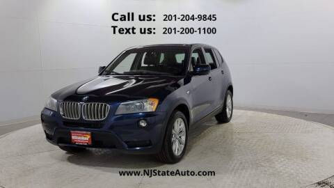 2014 BMW X3 for sale at NJ State Auto Used Cars in Jersey City NJ