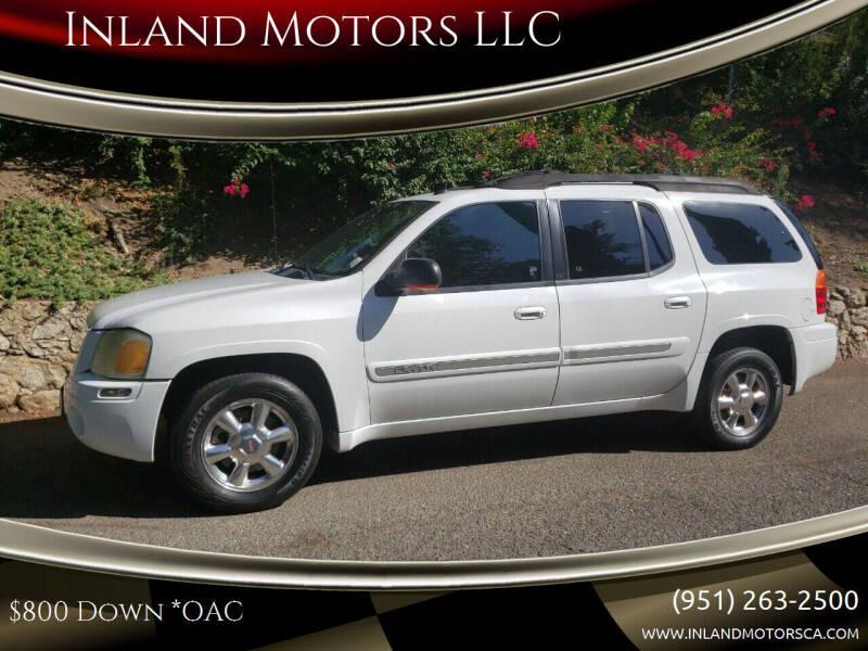 2004 GMC Envoy XL for sale at Inland Motors LLC in Riverside CA