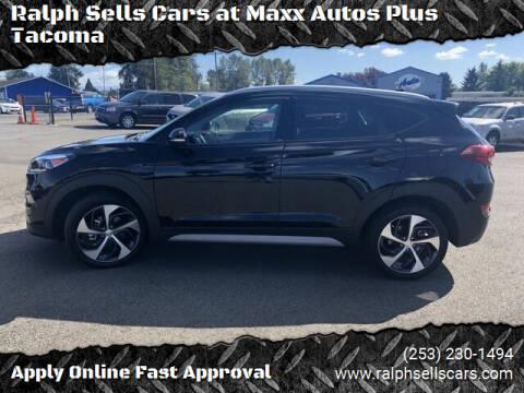 2018 Hyundai Tucson for sale at Ralph Sells Cars at Maxx Autos Plus Tacoma in Tacoma WA