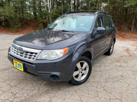 2012 Subaru Forester for sale at Granite Auto Sales in Spofford NH