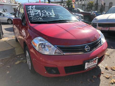 2011 Nissan Versa for sale at GTR Auto Solutions in Newark NJ