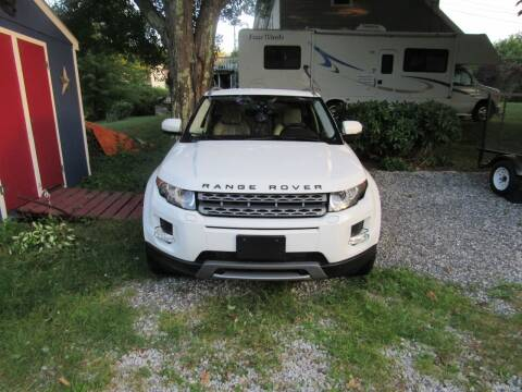 2012 Land Rover Range Rover Evoque for sale at Heritage Truck and Auto Inc. in Londonderry NH