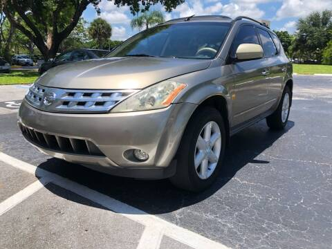 2003 Nissan Murano for sale at GERMANY TECH in Boca Raton FL