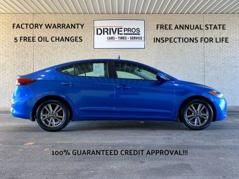 2018 Hyundai Elantra for sale at Drive Pros in Charles Town WV