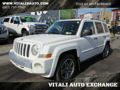 2008 Jeep Patriot for sale at VITALI AUTO EXCHANGE in Johnson City NY