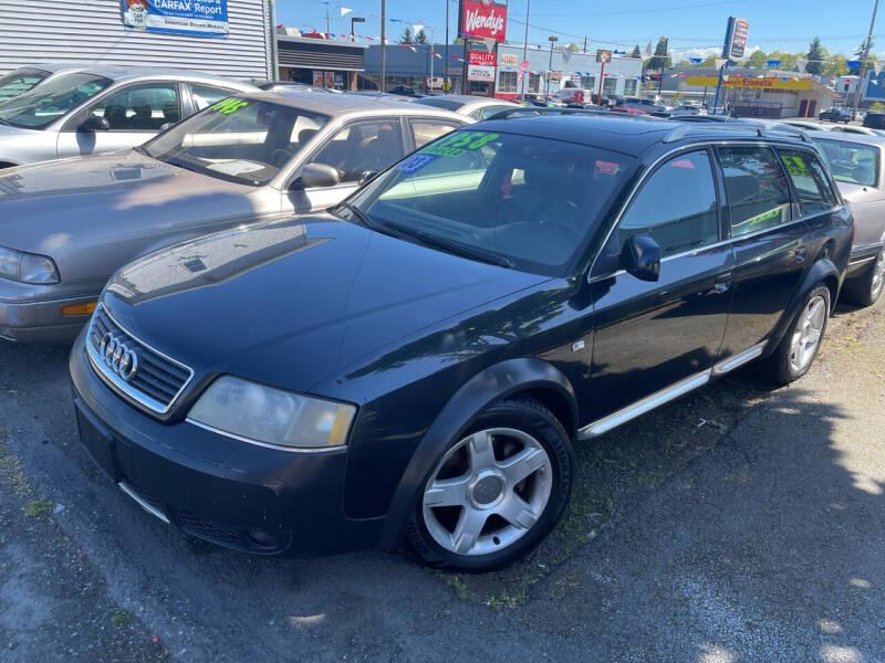 2003 Audi Allroad for sale at American Dream Motors in Everett WA