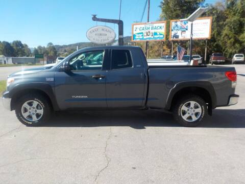 2007 Toyota Tundra for sale at EAST MAIN AUTO SALES in Sylva NC