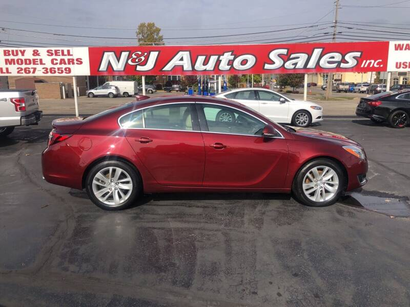 2016 Buick Regal for sale at N & J Auto Sales in Warsaw IN