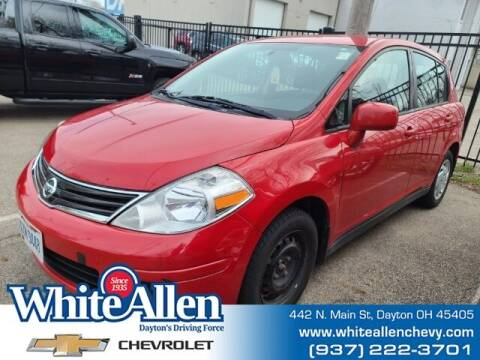 2011 Nissan Versa for sale at WHITE-ALLEN CHEVROLET in Dayton OH