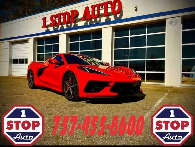 2021 Chevrolet Corvette for sale at 1 Stop Auto in Norfolk VA
