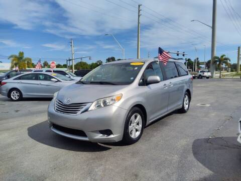 2015 Toyota Sienna for sale at BC Motors PSL in West Palm Beach FL