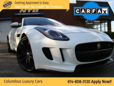 2014 Jaguar F-TYPE for sale at Columbus Luxury Cars in Columbus OH