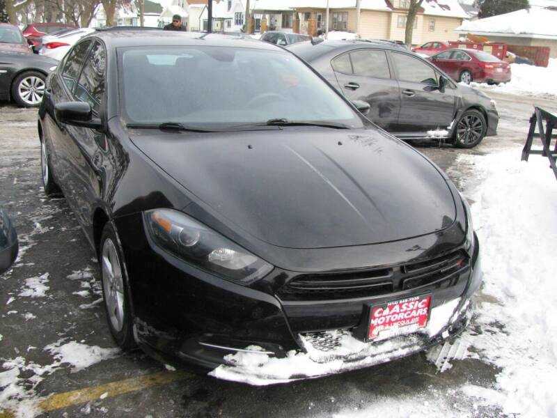 2016 Dodge Dart for sale at CLASSIC MOTOR CARS in West Allis WI