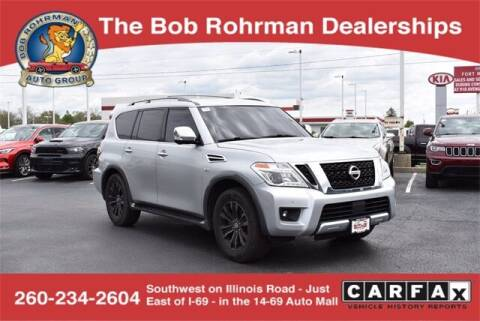 2017 Nissan Armada for sale at BOB ROHRMAN FORT WAYNE TOYOTA in Fort Wayne IN