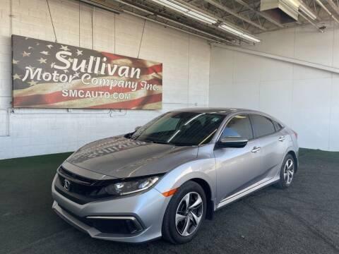2019 Honda Civic for sale at SULLIVAN MOTOR COMPANY INC. in Mesa AZ