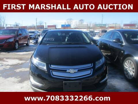 2012 Chevrolet Volt for sale at First Marshall Auto Auction in Harvey IL