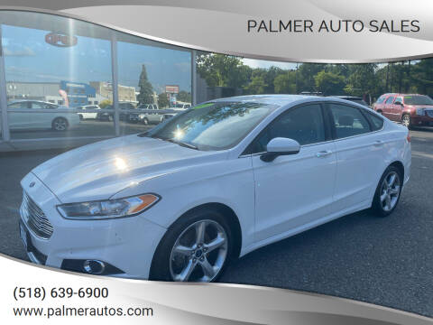 2016 Ford Fusion for sale at Palmer Auto Sales in Menands NY