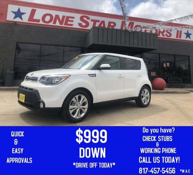 2016 Kia Soul for sale at LONE STAR MOTORS II in Fort Worth TX