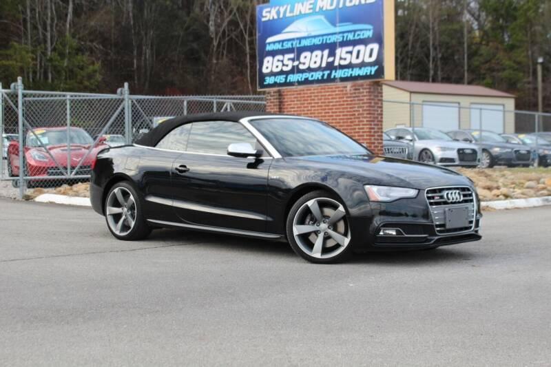 2017 Audi S5 for sale at Skyline Motors in Louisville TN